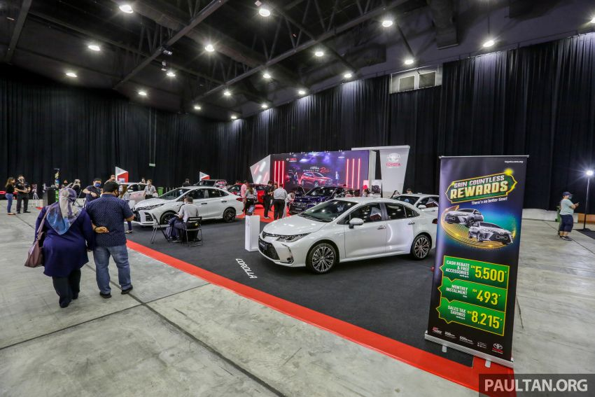 ACE 2021 starts today! Great deals from 12 car brands, buy and get RM2,550 vouchers, win lucky draw prizes Image #1282499