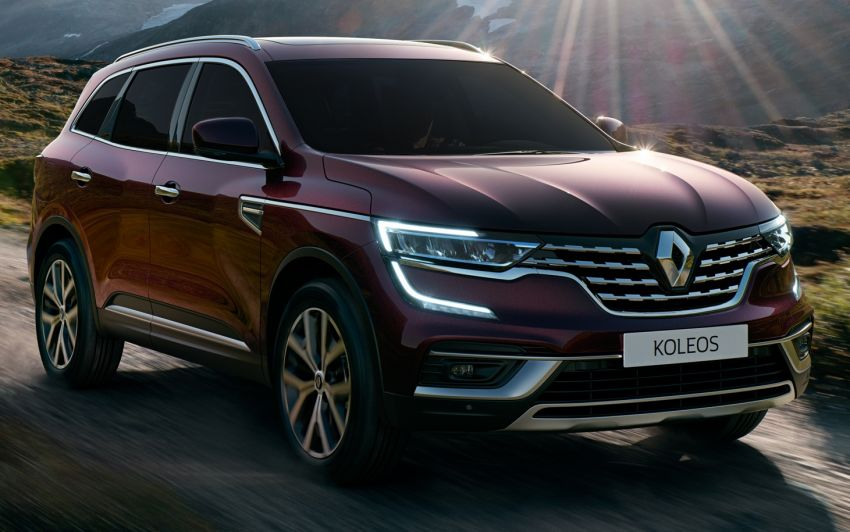 2021 Renault Koleos in Malaysia – new LED head- and taillights, seat ventilation and massage, from RM182k Image #1276179