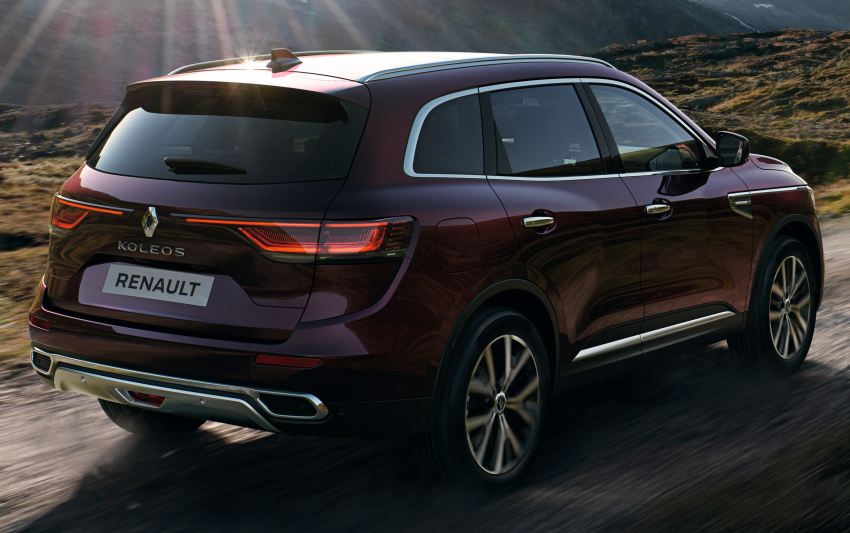 2021 Renault Koleos in Malaysia – new LED head- and taillights, seat ventilation and massage, from RM182k Image #1276180