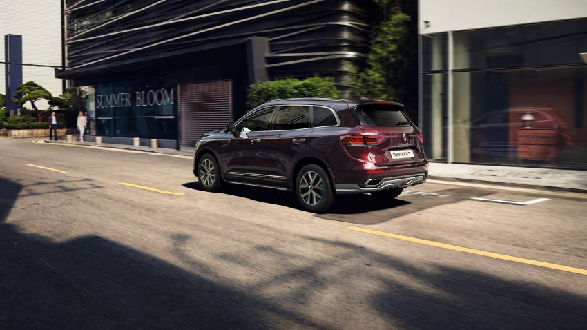 2021 Renault Koleos in Malaysia – new LED head- and taillights, seat ventilation and massage, from RM182k Image #1276184