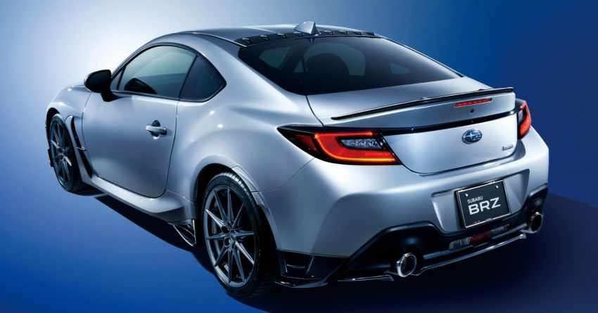 2021 Subaru BRZ revealed for Japan – 2.4L boxer four-cylinder with 235 PS; AT and MT; STI accessories Image #1273863