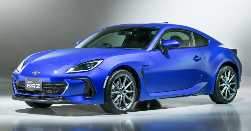 2021 Subaru BRZ revealed for Japan – 2.4L boxer four-cylinder with 235 PS; AT and MT; STI accessories Image #1273738