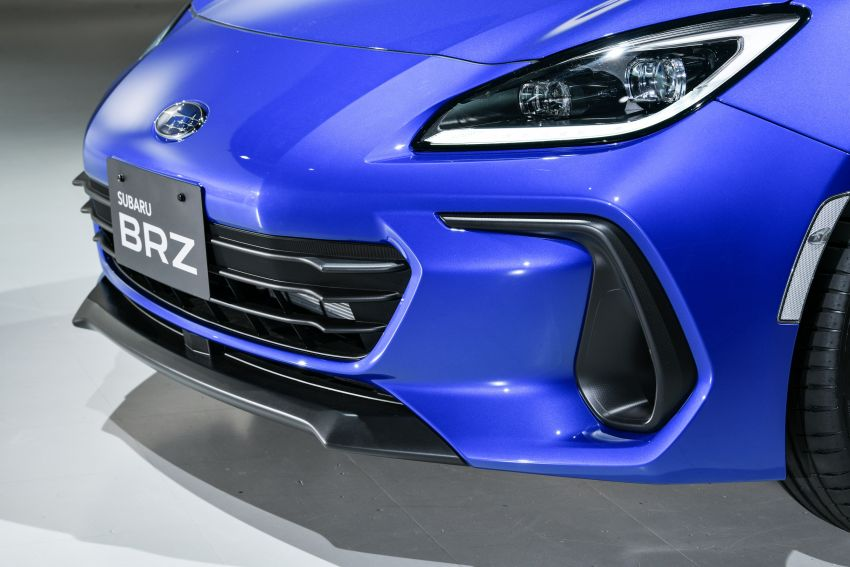 2021 Subaru BRZ revealed for Japan – 2.4L boxer four-cylinder with 235 PS; AT and MT; STI accessories Image #1273747