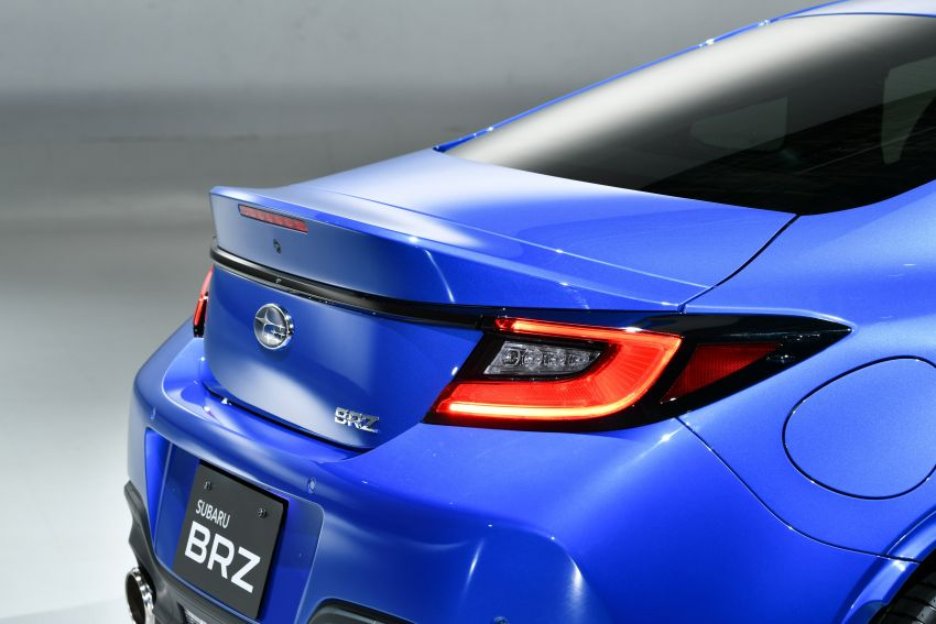 2021 Subaru BRZ revealed for Japan – 2.4L boxer four-cylinder with 235 PS; AT and MT; STI accessories Image #1273750