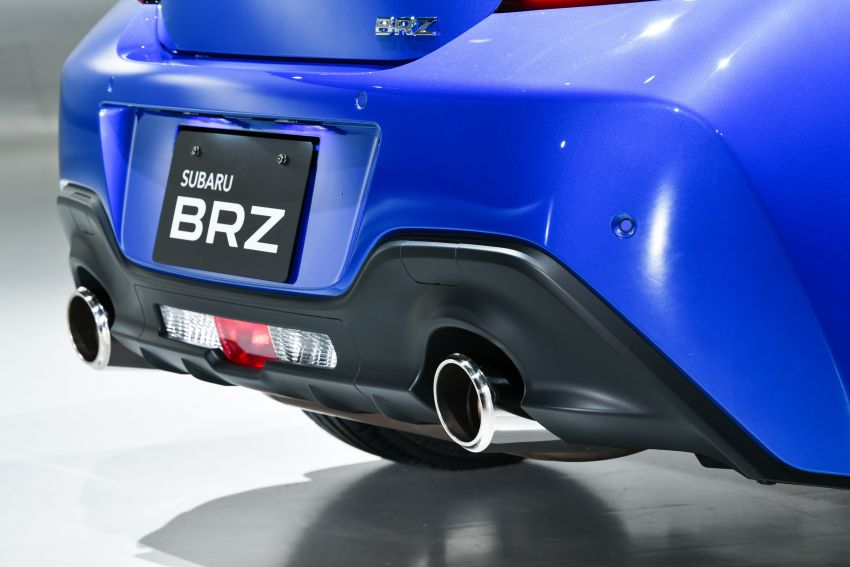 2021 Subaru BRZ revealed for Japan – 2.4L boxer four-cylinder with 235 PS; AT and MT; STI accessories Image #1273751