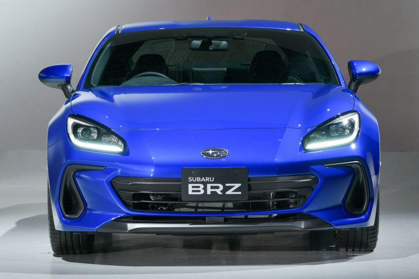 2021 Subaru BRZ revealed for Japan – 2.4L boxer four-cylinder with 235 PS; AT and MT; STI accessories Image #1273740