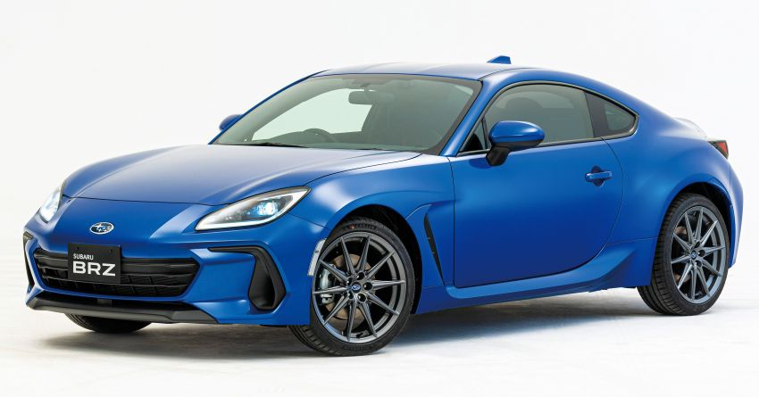 2021 Subaru BRZ revealed for Japan – 2.4L boxer four-cylinder with 235 PS; AT and MT; STI accessories Image #1273776