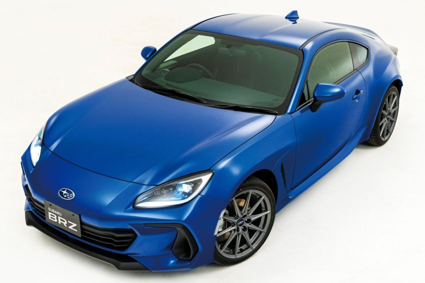 2021 Subaru BRZ revealed for Japan – 2.4L boxer four-cylinder with 235 PS; AT and MT; STI accessories Image #1273777