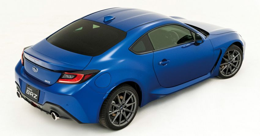 2021 Subaru BRZ revealed for Japan – 2.4L boxer four-cylinder with 235 PS; AT and MT; STI accessories Image #1273778