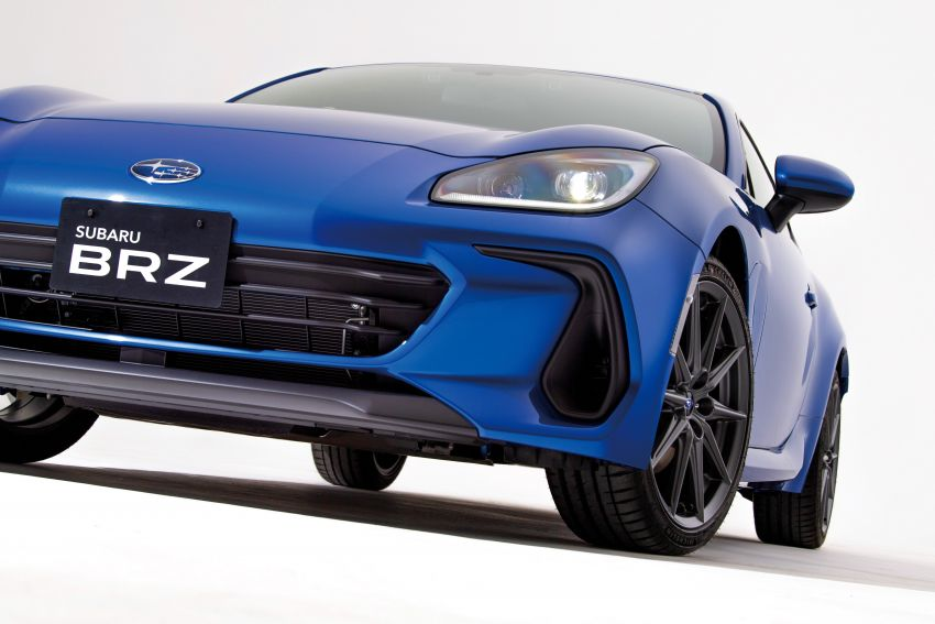 2021 Subaru BRZ revealed for Japan – 2.4L boxer four-cylinder with 235 PS; AT and MT; STI accessories Image #1273782