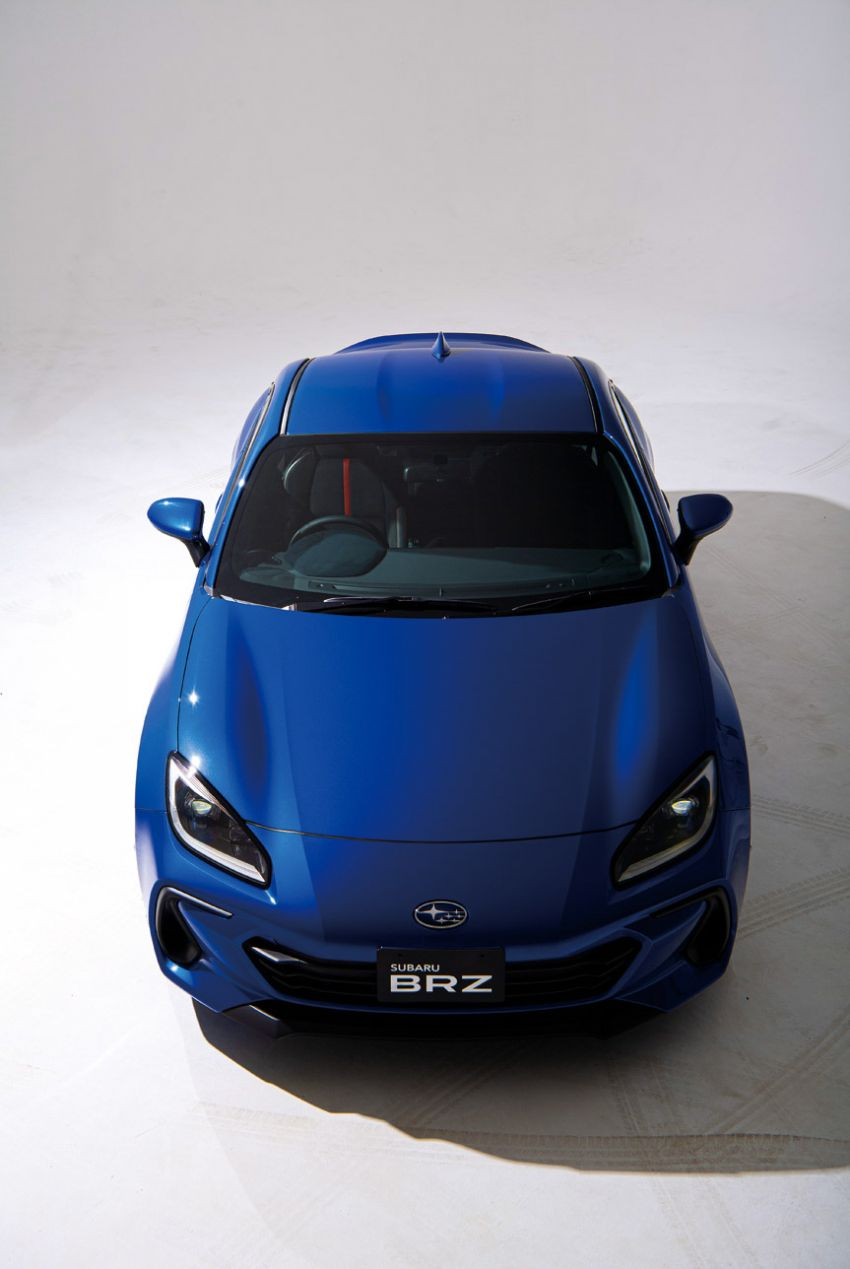 2021 Subaru BRZ revealed for Japan – 2.4L boxer four-cylinder with 235 PS; AT and MT; STI accessories Image #1273790