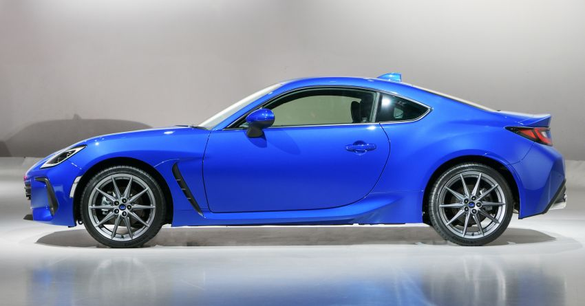 2021 Subaru BRZ revealed for Japan – 2.4L boxer four-cylinder with 235 PS; AT and MT; STI accessories Image #1273743
