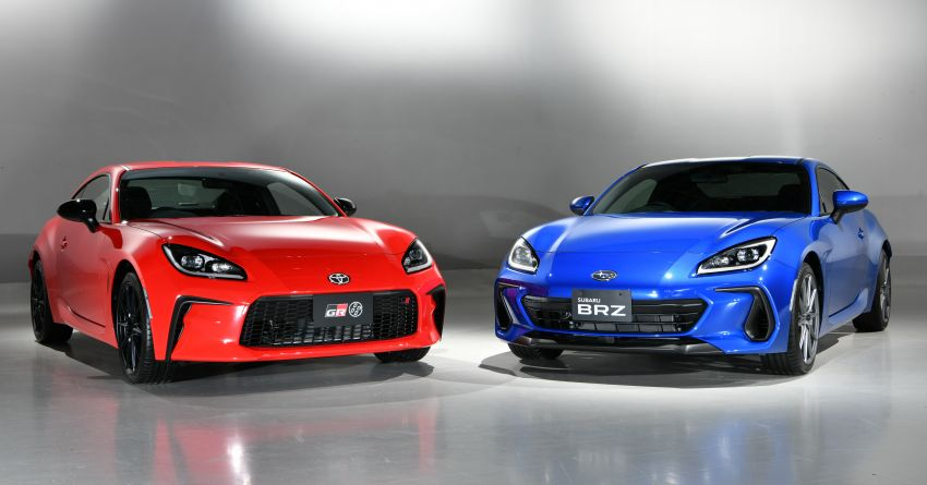 2021 Subaru BRZ revealed for Japan – 2.4L boxer four-cylinder with 235 PS; AT and MT; STI accessories Image #1273803