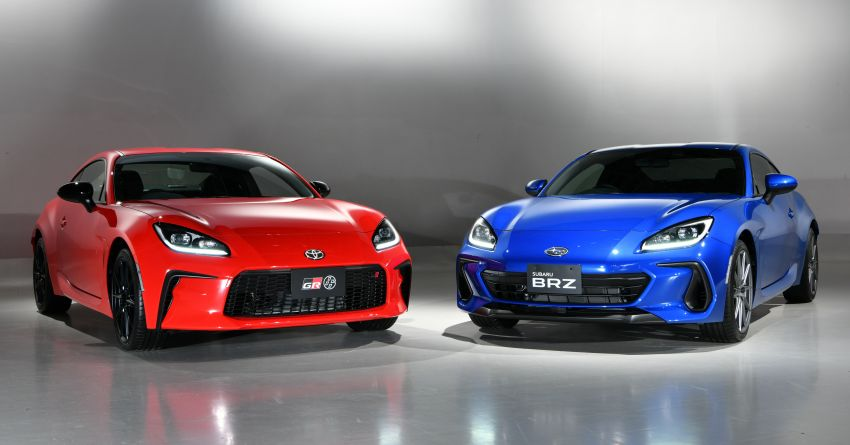 2021 Subaru BRZ revealed for Japan – 2.4L boxer four-cylinder with 235 PS; AT and MT; STI accessories Image #1273804