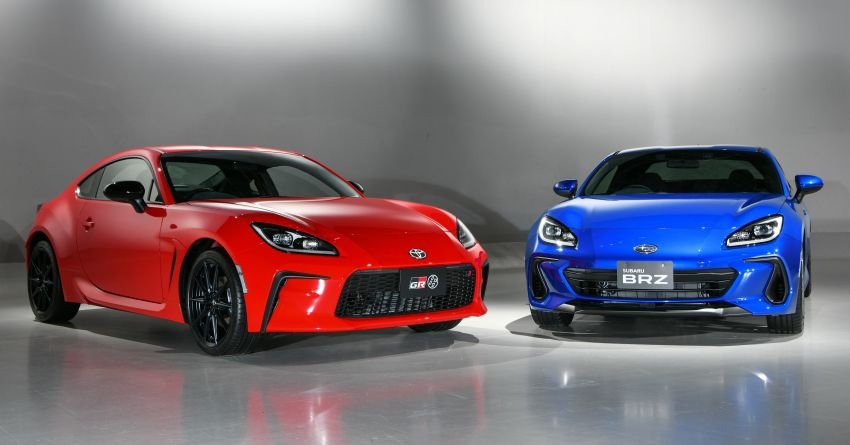 2021 Subaru BRZ revealed for Japan – 2.4L boxer four-cylinder with 235 PS; AT and MT; STI accessories Image #1273805