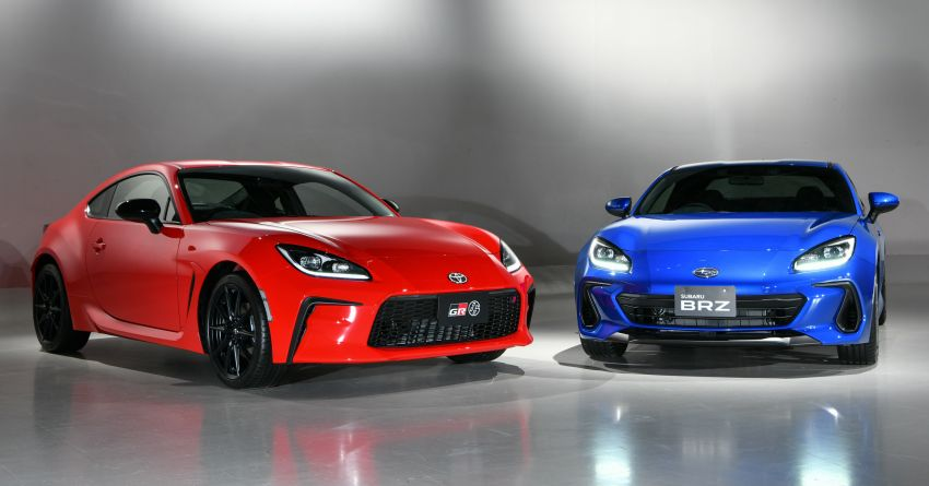 2021 Subaru BRZ revealed for Japan – 2.4L boxer four-cylinder with 235 PS; AT and MT; STI accessories Image #1273806