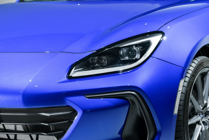 2021 Subaru BRZ revealed for Japan – 2.4L boxer four-cylinder with 235 PS; AT and MT; STI accessories Image #1273744