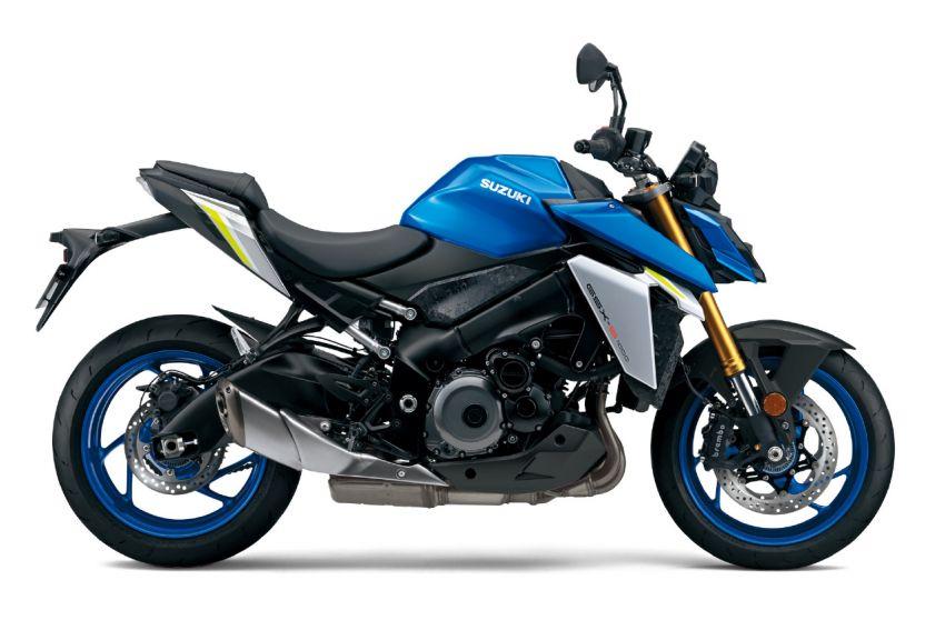 2022 Suzuki GSX-S1000 naked sports major update Image #1288535