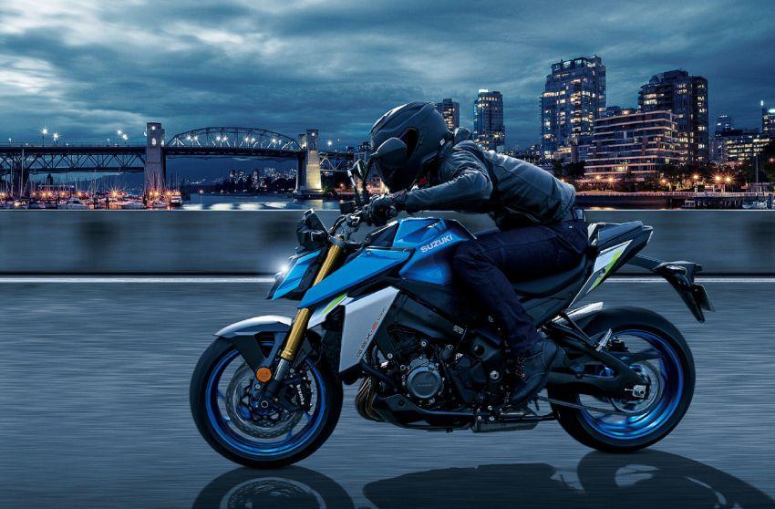 2022 Suzuki GSX-S1000 naked sports major update Image #1288525