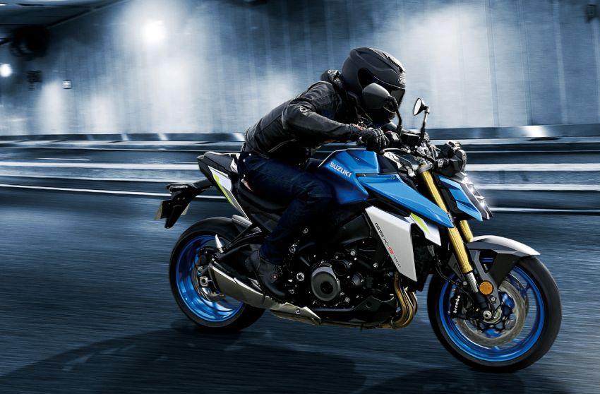 2022 Suzuki GSX-S1000 naked sports major update Image #1288528