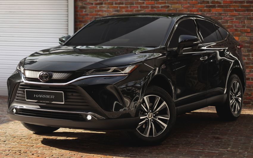 2021 Toyota Harrier launched in Malaysia – TNGA platform, single 2.0L NA CVT variant, RM249,707 Image #1275740
