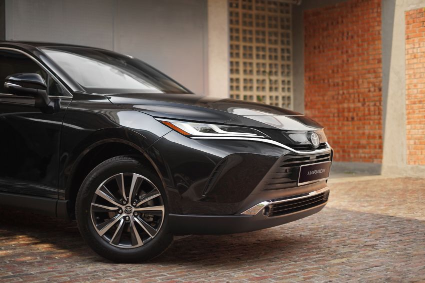 2021 Toyota Harrier launched in Malaysia – TNGA platform, single 2.0L NA CVT variant, RM249,707 Image #1275749