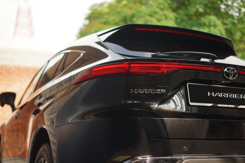2021 Toyota Harrier launched in Malaysia – TNGA platform, single 2.0L NA CVT variant, RM249,707 Image #1275762