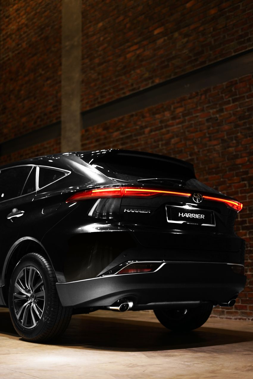 2021 Toyota Harrier launched in Malaysia – TNGA platform, single 2.0L NA CVT variant, RM249,707 Image #1275770