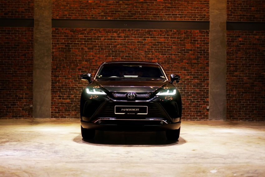 2021 Toyota Harrier launched in Malaysia – TNGA platform, single 2.0L NA CVT variant, RM249,707 Image #1275775