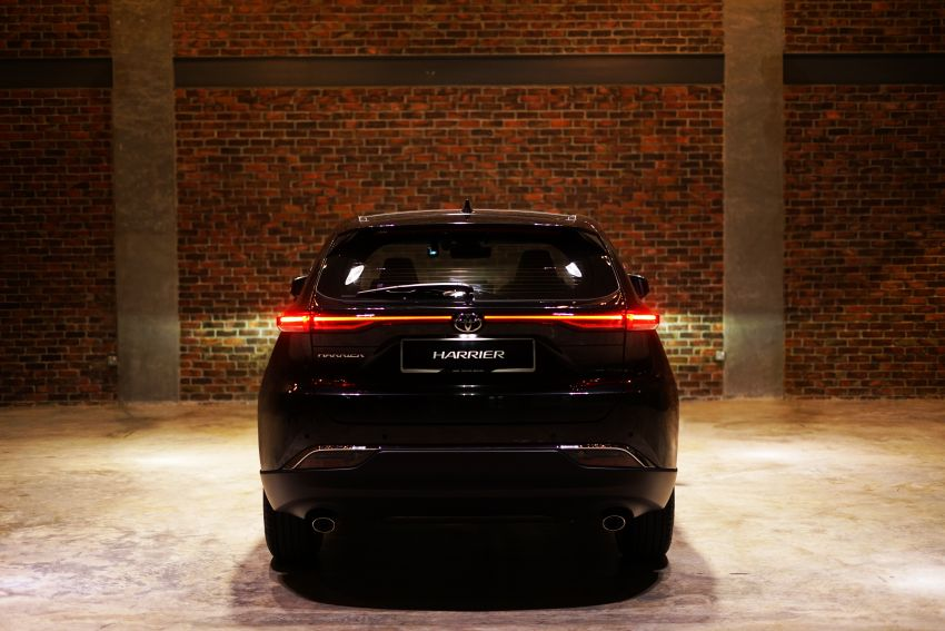 2021 Toyota Harrier launched in Malaysia – TNGA platform, single 2.0L NA CVT variant, RM249,707 Image #1275784