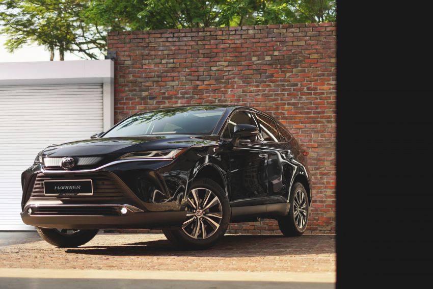 2021 Toyota Harrier launched in Malaysia – TNGA platform, single 2.0L NA CVT variant, RM249,707 Image #1275737