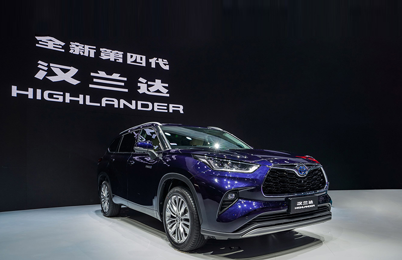 Toyota Crown Kluger debuts at Auto Shanghai 2021 – 2.5L hybrid powertrain with E-Four all-wheel-drive Image #1286667