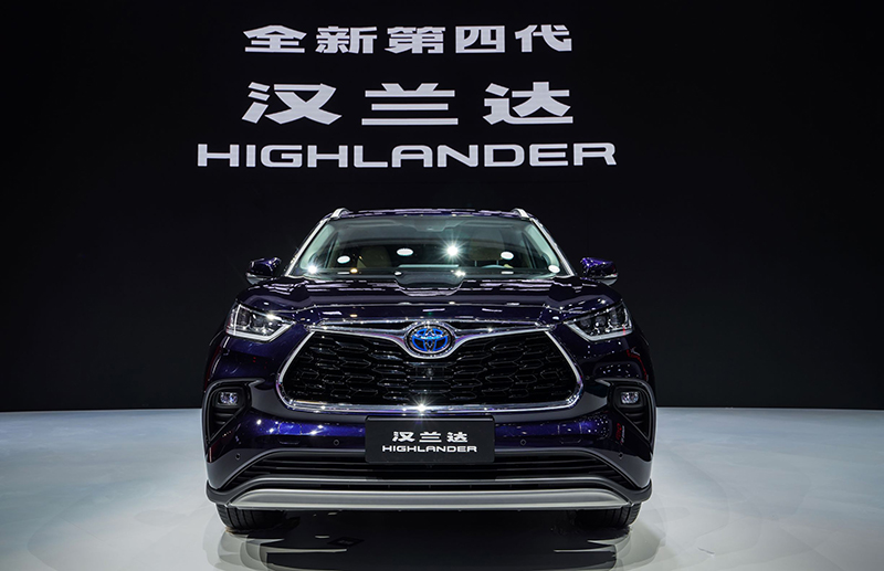 Toyota Crown Kluger debuts at Auto Shanghai 2021 – 2.5L hybrid powertrain with E-Four all-wheel-drive Image #1286666