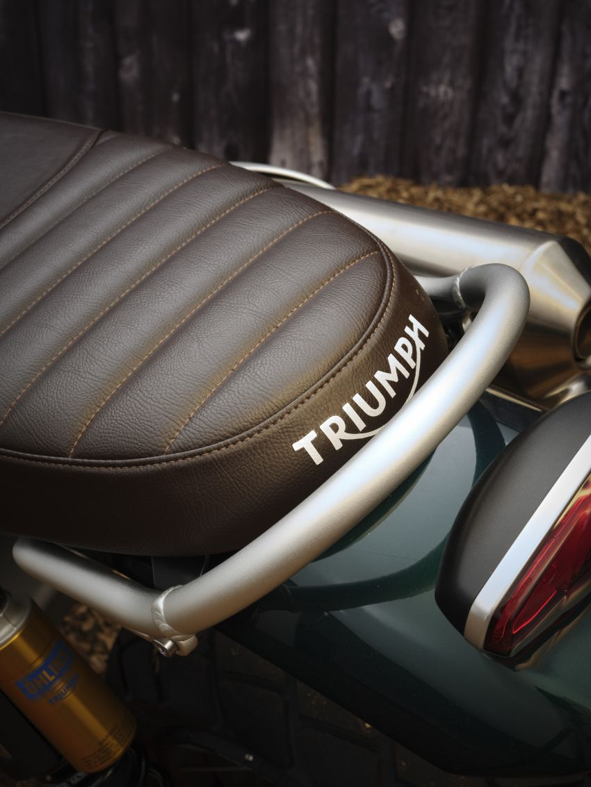 2021 Triumph Scrambler 1200 Steve McQueen Edition unveiled, Scrambler 1200 XC and XE get Euro 5 update Image #1278783