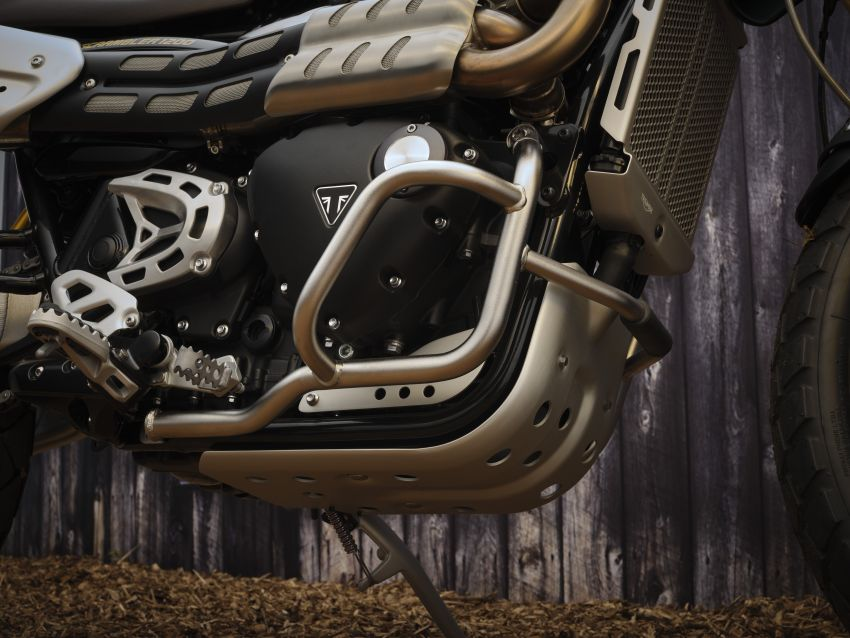 2021 Triumph Scrambler 1200 Steve McQueen Edition unveiled, Scrambler 1200 XC and XE get Euro 5 update Image #1278796