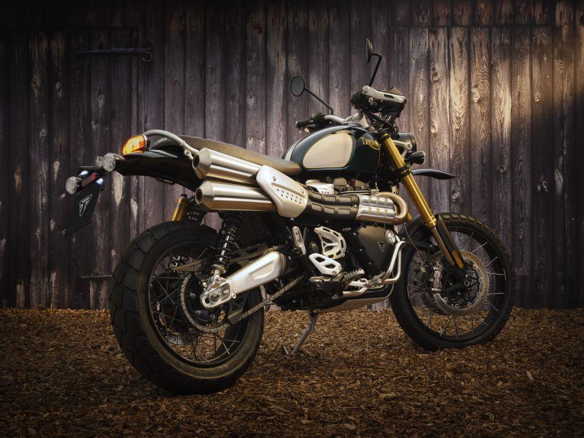 2021 Triumph Scrambler 1200 Steve McQueen Edition unveiled, Scrambler 1200 XC and XE get Euro 5 update Image #1278799
