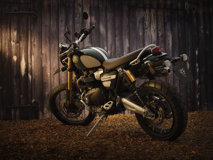 2021 Triumph Scrambler 1200 Steve McQueen Edition unveiled, Scrambler 1200 XC and XE get Euro 5 update Image #1278800
