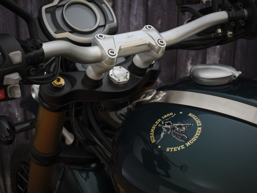 2021 Triumph Scrambler 1200 Steve McQueen Edition unveiled, Scrambler 1200 XC and XE get Euro 5 update Image #1278760