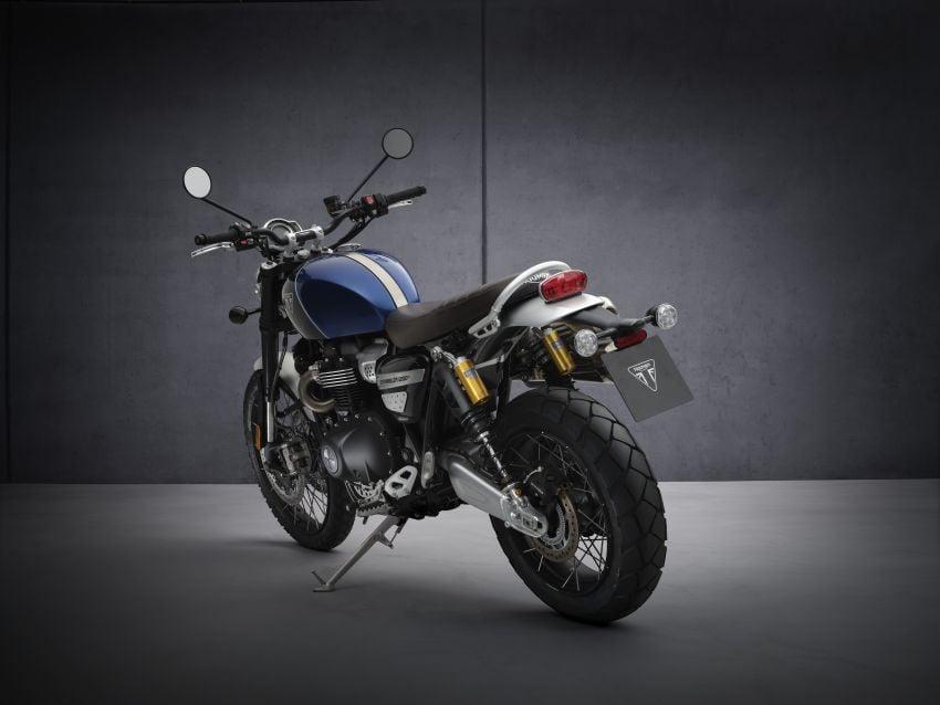 2021 Triumph Scrambler 1200 Steve McQueen Edition unveiled, Scrambler 1200 XC and XE get Euro 5 update Image #1278886