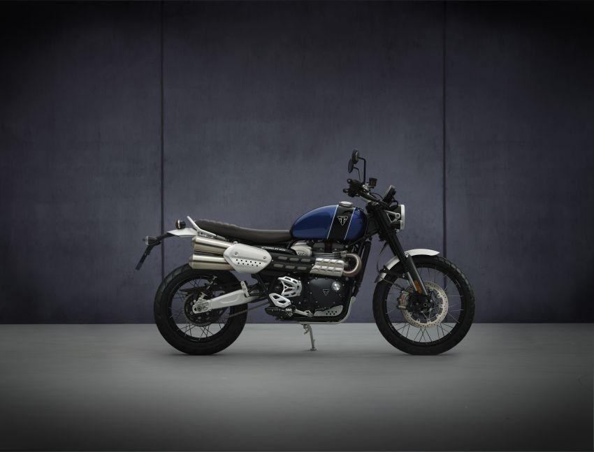 2021 Triumph Scrambler 1200 Steve McQueen Edition unveiled, Scrambler 1200 XC and XE get Euro 5 update Image #1278891