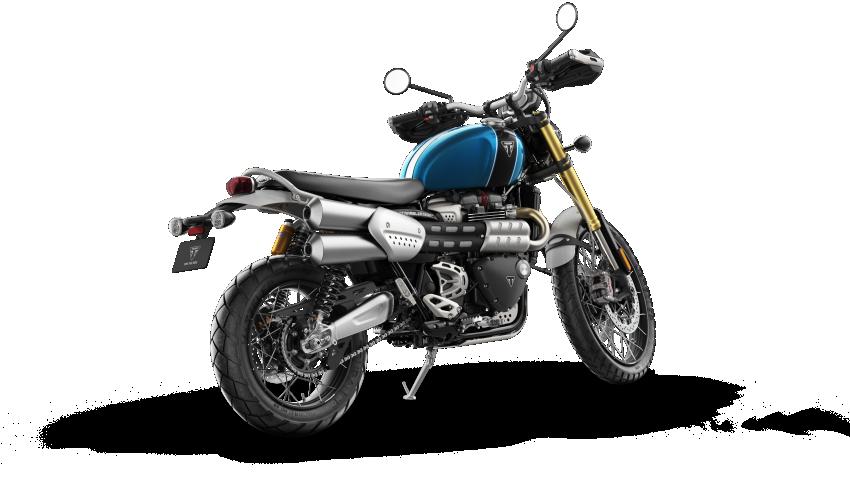 2021 Triumph Scrambler 1200 Steve McQueen Edition unveiled, Scrambler 1200 XC and XE get Euro 5 update Image #1278905