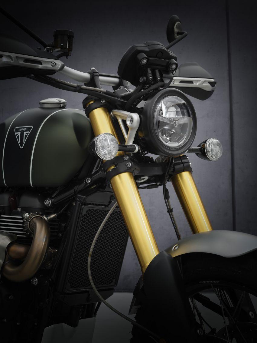 2021 Triumph Scrambler 1200 Steve McQueen Edition unveiled, Scrambler 1200 XC and XE get Euro 5 update Image #1278924