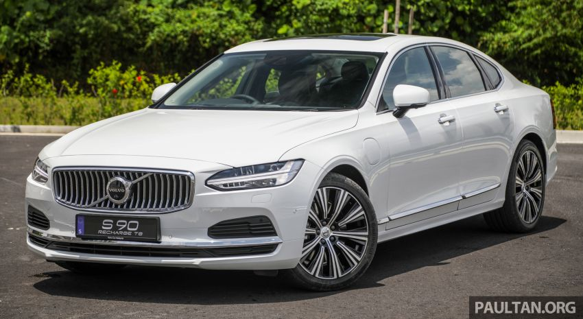 2021 Volvo S90 facelift launched in Malaysia – two variants; Recharge T8 Inscription Plus from RM339k Image #1285438