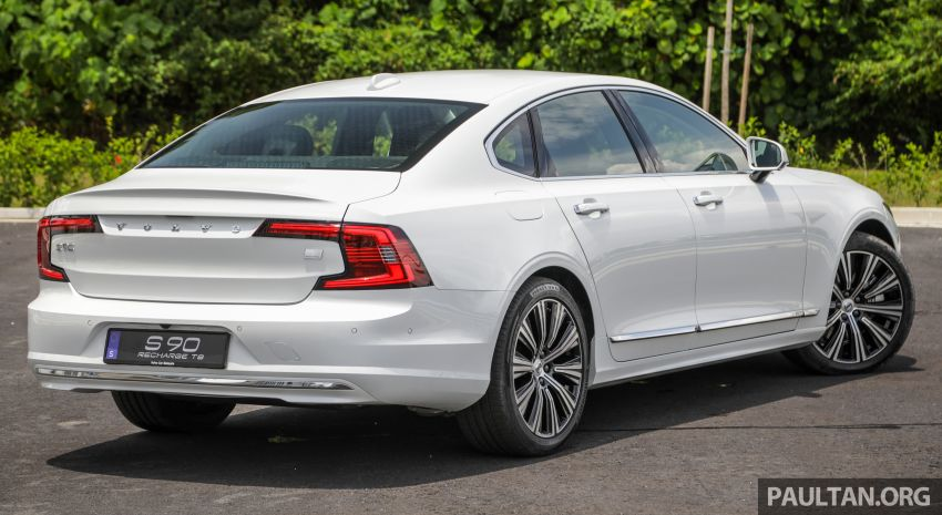 2021 Volvo S90 facelift launched in Malaysia – two variants; Recharge T8 Inscription Plus from RM339k Image #1285439