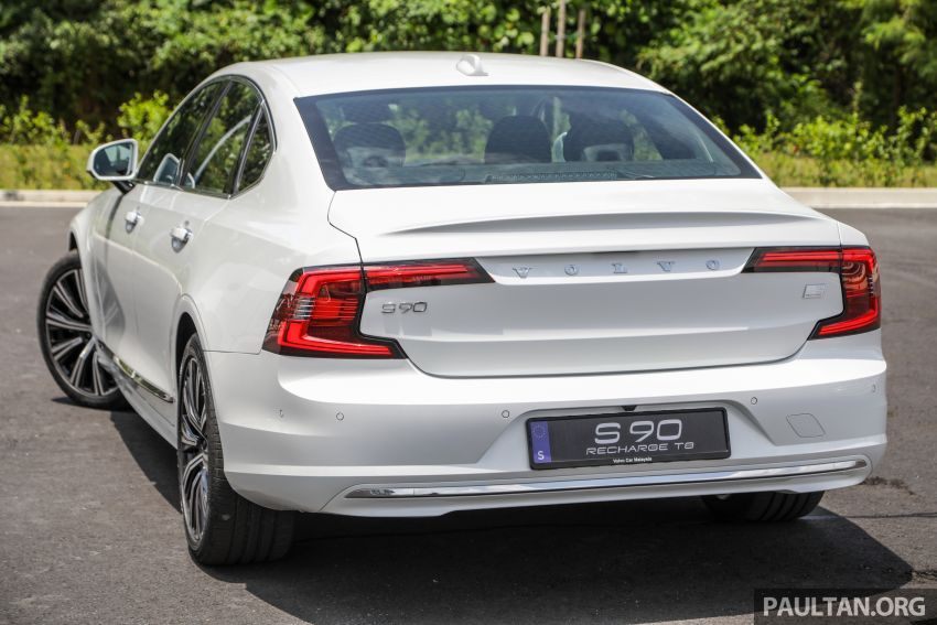 2021 Volvo S90 facelift launched in Malaysia – two variants; Recharge T8 Inscription Plus from RM339k Image #1285440