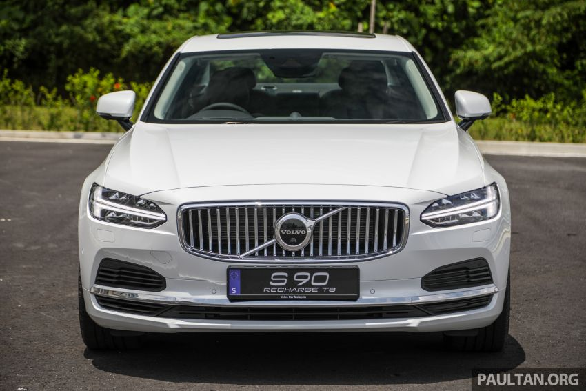 2021 Volvo S90 facelift launched in Malaysia – two variants; Recharge T8 Inscription Plus from RM339k Image #1285442