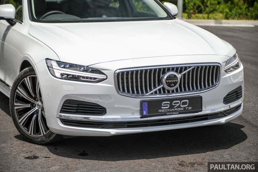 2021 Volvo S90 facelift launched in Malaysia – two variants; Recharge T8 Inscription Plus from RM339k Image #1285444