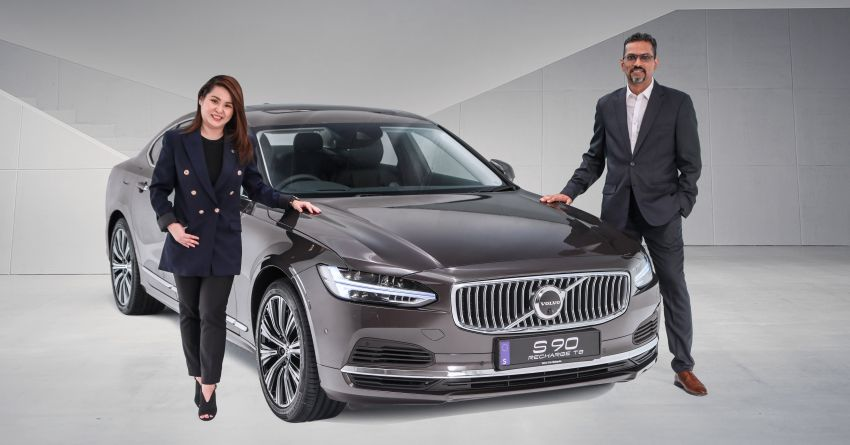 2021 Volvo S90 facelift launched in Malaysia – two variants; Recharge T8 Inscription Plus from RM339k Image #1285752