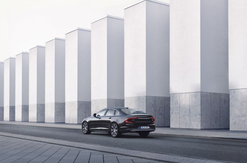 2021 Volvo S90 facelift launched in Malaysia – two variants; Recharge T8 Inscription Plus from RM339k Image #1285762