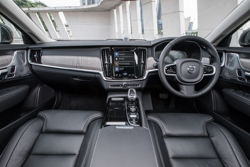 2021 Volvo S90 facelift launched in Malaysia – two variants; Recharge T8 Inscription Plus from RM339k Image #1285771